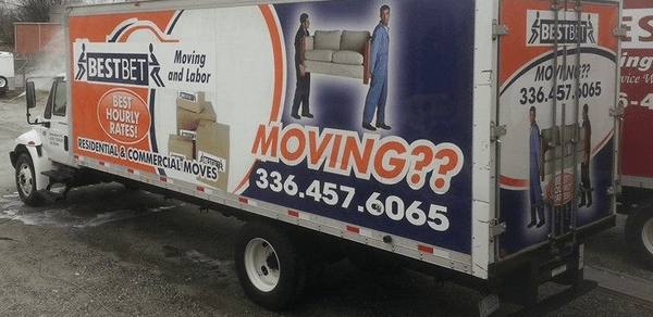 Best Bet Moving & Labor
