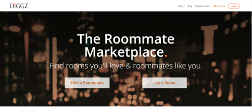 Diggz Roommate Marketplace